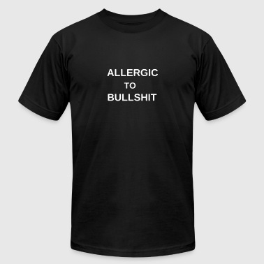 ALLERGIC TO BULLSHIT - Men's Fine Jersey T-Shirt