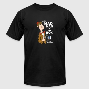 Mad Man With A Box The Mad Man in the Box - Men's Fine Jersey T-Shirt