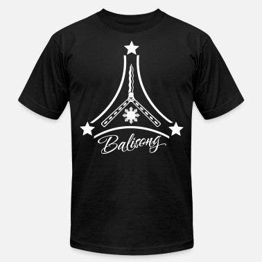Butterfly Knife Balisong - Men's  Jersey T-Shirt