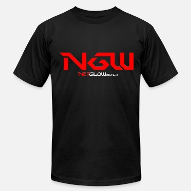 Ngw NGW (Red + White) - Men's  Jersey T-Shirt