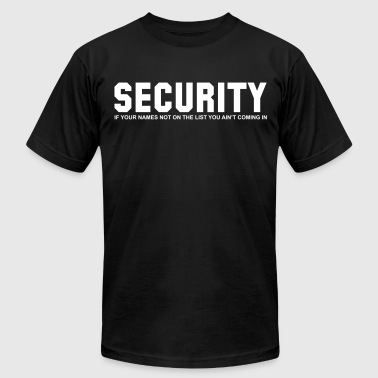 SECURITY - Men's Fine Jersey T-Shirt