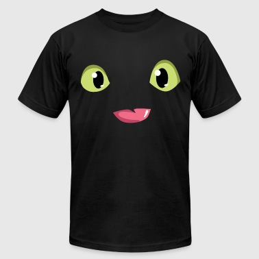 Dragon eyes and tongue - Men's Fine Jersey T-Shirt