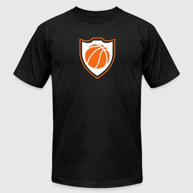 Basketball shield - Men's Fine Jersey T-Shirt