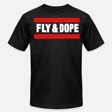 So Dope FLY AND DOPE - Men's  Jersey T-Shirt