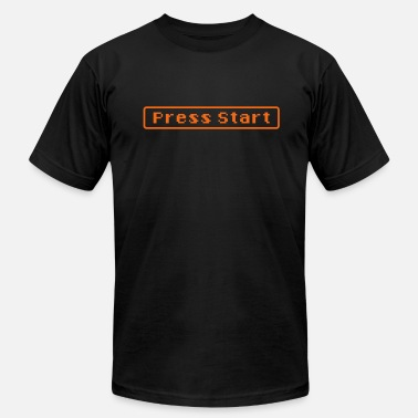 Press Geek press start - Men's Fine Jersey T-Shirt