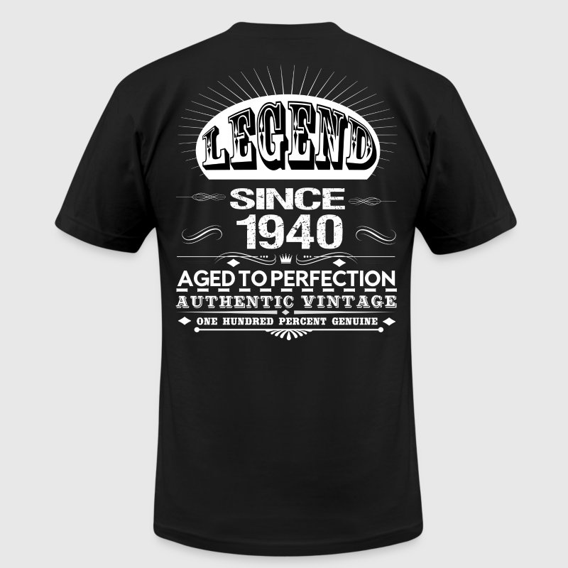 LEGEND SINCE 1940 - Men's Fine Jersey T-Shirt