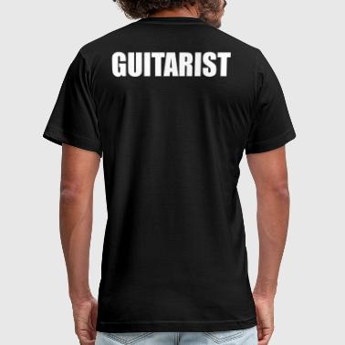 GUITARIST - Men's Fine Jersey T-Shirt