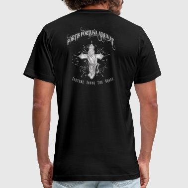 Fortis Fortuna Adiuvat Tattoo - Men's Fine Jersey T-Shirt