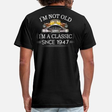 Vintage 1947 All Original Parts Classic since 1947 - Men's  Jersey T-Shirt