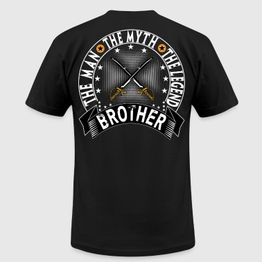 BROTHER THE MAN THE MYTH THE LEGEND - Men's Fine Jersey T-Shirt