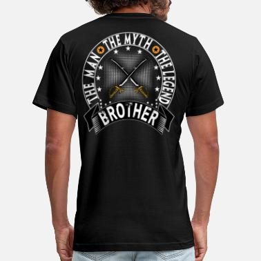 Brother The Man The Myth The Legend BROTHER THE MAN THE MYTH THE LEGEND - Men's  Jersey T-Shirt