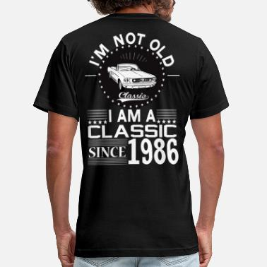 1986 Classic since 1986 - Men's  Jersey T-Shirt