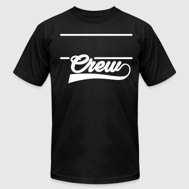 Team Shirt Team Tee Team T-Shirt Crew Shirt Crews - Men's T-Shirt by American Apparel