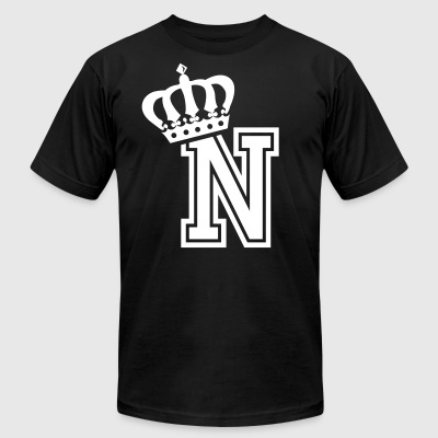 Name: Letter N Character N Case N Alphabetical N - Men's T-Shirt by American Apparel