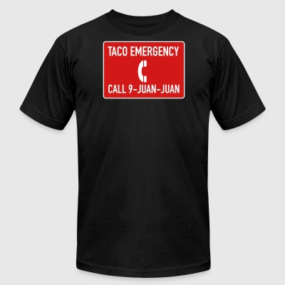 Taco Emergency 9-Juan-Juan - Men's T-Shirt by American Apparel