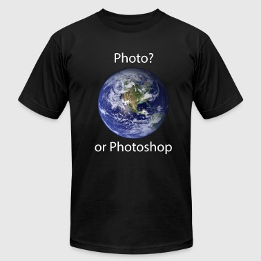 Photo? or Photoshop - Men's Fine Jersey T-Shirt