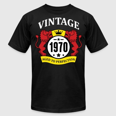 Vintage 1970 Aged to Perfection - Men's Fine Jersey T-Shirt
