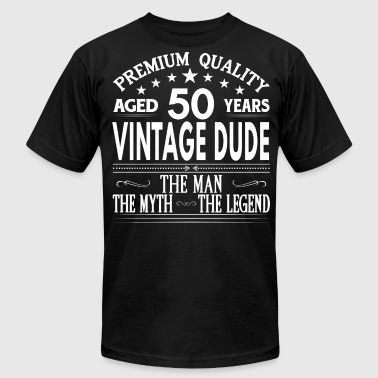 VINTAGE DUDE AGED 50 YEARS - Men's Fine Jersey T-Shirt