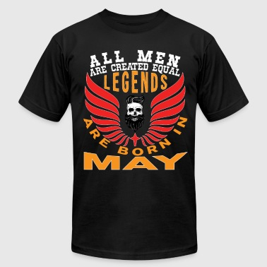 LEGENDS ARE BORN IN MAY - Men's Fine Jersey T-Shirt