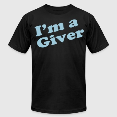 I'M A GIVER - Men's Fine Jersey T-Shirt