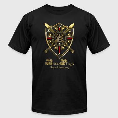 Boss Playa Apparel Company Shield - Men's Fine Jersey T-Shirt