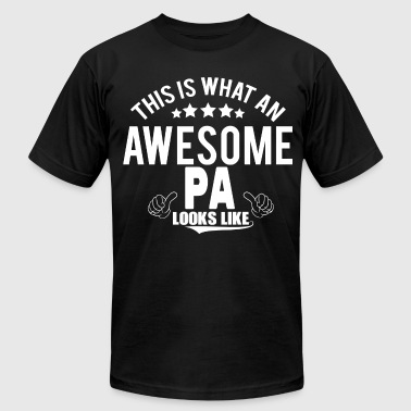 THIS IS WHAT AN AWESOME PA LOOKS LIKE - Men's Fine Jersey T-Shirt