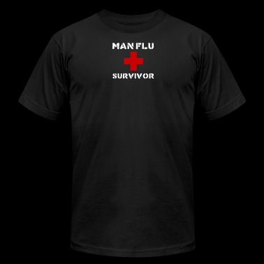 Man Flu Survivor - Men's Fine Jersey T-Shirt