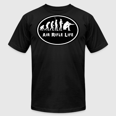 T-shirt Air Rifle Life Evolution - Men's T-Shirt by American Apparel