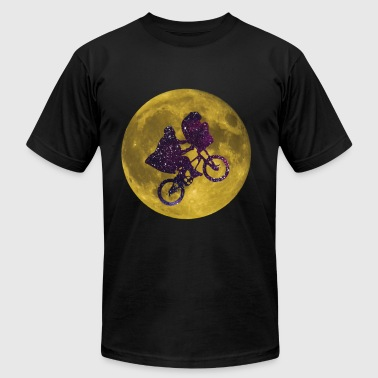 ET Moon Galaxy - Men's Fine Jersey T-Shirt
