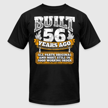 56th birthday gift idea: Built 56 years ago Shirt - Men's Fine Jersey T-Shirt