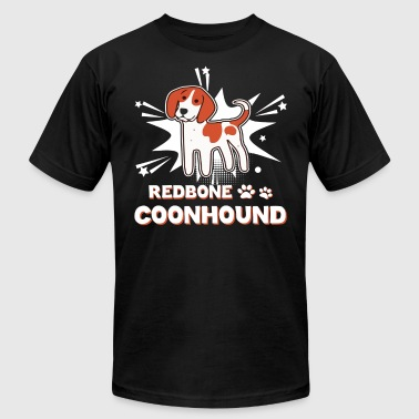 Redbone Coonhound Shirt - Men's T-Shirt by American Apparel