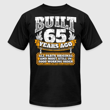 65th birthday gift idea: Built 65 years ago Shirt - Men's Fine Jersey T-Shirt