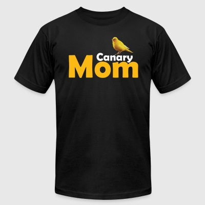 Canary Mom Gift - Men's T-Shirt by American Apparel