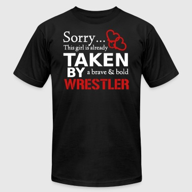 Brave And Bold Wrestler T-shirt - Men's Fine Jersey T-Shirt