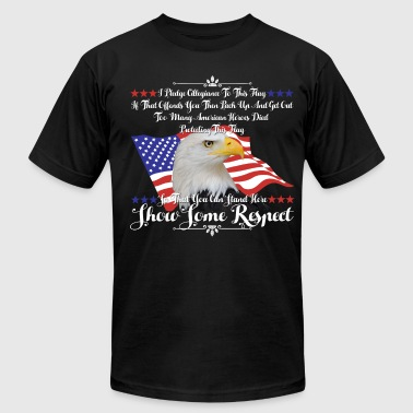 I Am An American Shirt - Men's T-Shirt by American Apparel