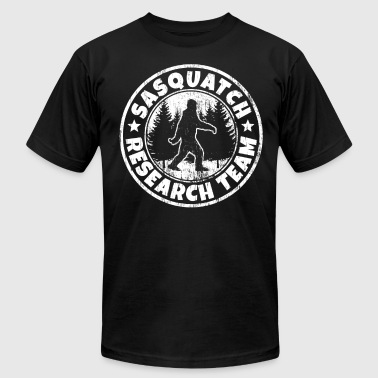 Funny Sasquatch Shirt: Sasquatch Research Team - Men's Fine Jersey T-Shirt