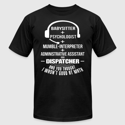 babysitter spychologist mumble interpreter adminis - Men's T-Shirt by American Apparel