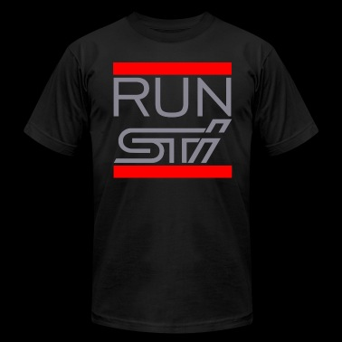 RUN STI - Men's Fine Jersey T-Shirt