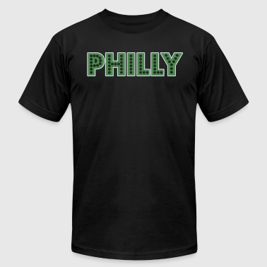 Philly - Men's T-Shirt by American Apparel