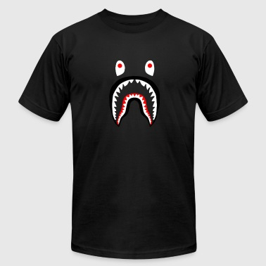 bape shark - Men's Fine Jersey T-Shirt