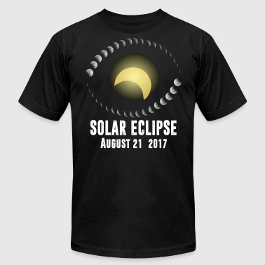 Total Solar Eclipse August 21 2017 T-Shirt - Men's Fine Jersey T-Shirt
