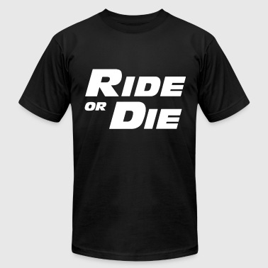 FAST AND FURIOUS ride or die - Men's Fine Jersey T-Shirt