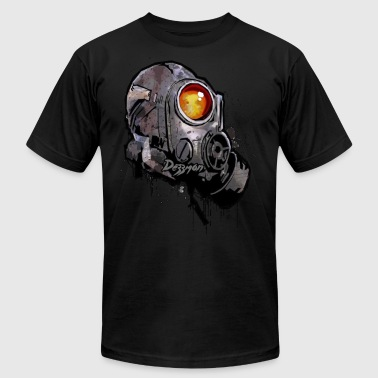 GAS MASK - DEZZMON - Men's Fine Jersey T-Shirt