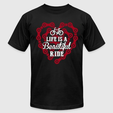 Life Is A Beautiful Ride - Men's Fine Jersey T-Shirt