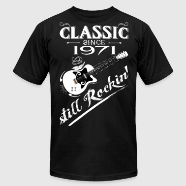 Classic Since 1971-Still Rockin' - Men's Fine Jersey T-Shirt
