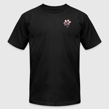 roses - Men's T-Shirt by American Apparel