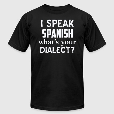 SPANISH dialect design - Men's Fine Jersey T-Shirt