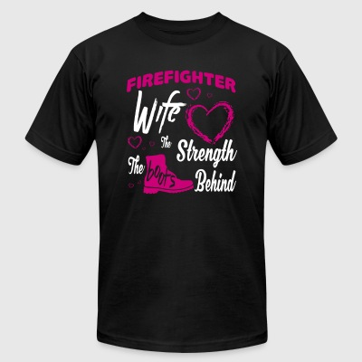 Firefighter Wife T Shirt - Men's T-Shirt by American Apparel