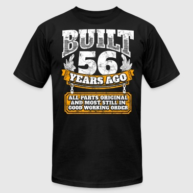 56th birthday gift idea: Built 56 years ago Shirt - Men's T-Shirt by American Apparel