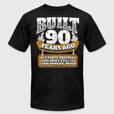 90th birthday gift idea: Built 90 years ago Shirt - Men's Fine Jersey T-Shirt